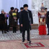 В Актобе открыт памятник классикам казахской литературы Тахауи Ахтанову и Куандыку Шангытбаеву