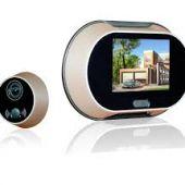 Видео-глазок в металлическую дверь, как новинка безопасности жилья
