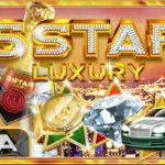 Игровой автомат 5 Star Luxury от казино Вулкан Vip. Красиво жить не запретишь!