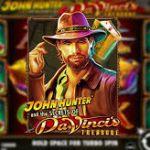 Игровые автоматы на деньги John Hunter and the Secret of Da Vinchi's Treasure
