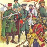 Служба в армии Петра Великого в Северную войну