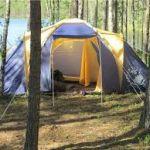 Выбираем палатку для туристического похода