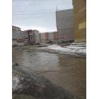 затоппление дороги